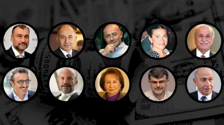 Türkiye'de 2020 nin en zengin 100 kişisi