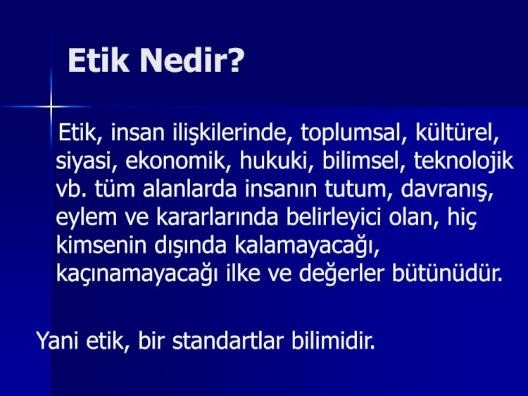 IEEE MESLEKİ ETİK KURALLARI