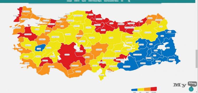 Normalleşmeye Başlandı ! Risk Haritası ve Risklere Göre Tedbirler Nasıl Alınacak ?