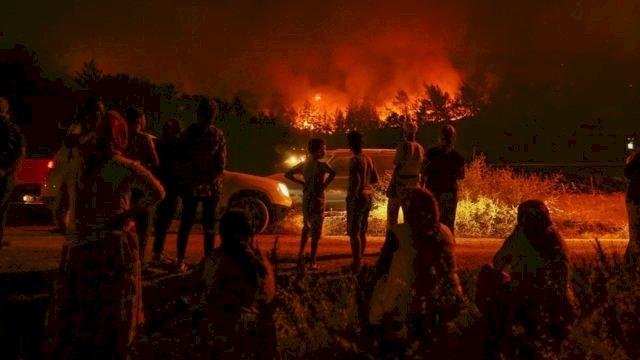 2021 de çıkan Orman Yangınlarında Türkiye' ye Yardım Gönderen Ülkeler.