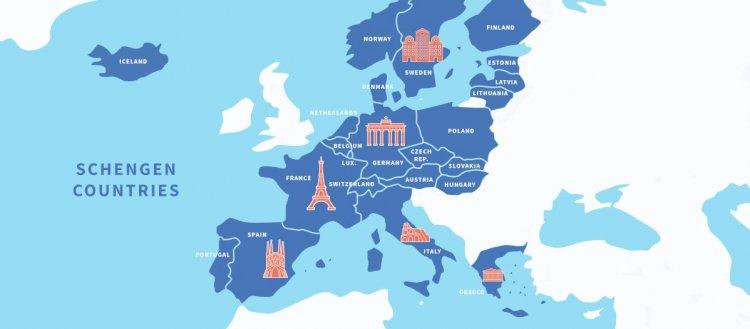 Schengen İşbirliği Ağı ve Schengen' e Üye devletler