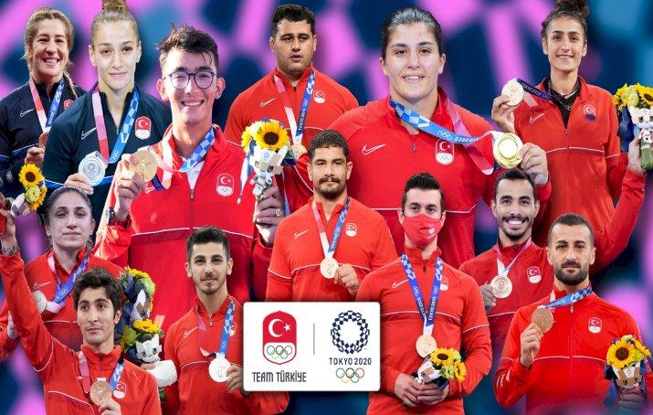 2020 Tokyo Olimpiyatları Türkiye Madalya Karnesi